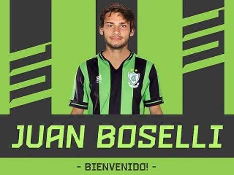Boselli fica no Coelho até o fim da temporada 2019 (Divulgação/América-MG)