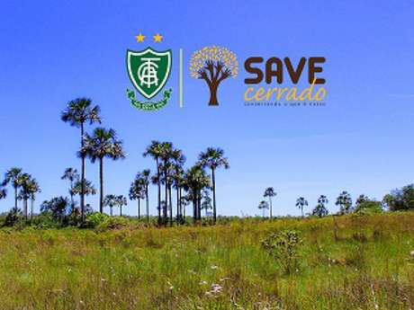 América-MG tem ação inovadora em prol do meio ambiente brasileiro- (Divulgação/América-MG)