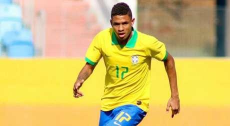 Diego Rosa marcou um gol na vitória contra a Austrália por 4 a 0 (Foto: Bruno Pacheco/CBF)