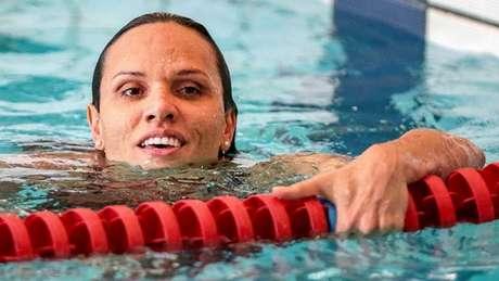 Maria Carol Santiago conquista terceira medalha de ouro para o Brasil na competição (Foto: CPB / Divulgação)