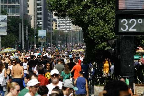 Temperatura na capital e em alguns estados de São Paulo pode chegar a 38ºC