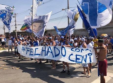 Rogério Ceni foi apoiado (Foto: Reprodução)
