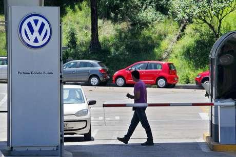 Fábrica da Volkswagen, em São Bernardo do Campo, no ABC Paulista (06/01/2015)