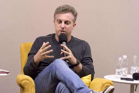 O apresentador e empresário Luciano Huck