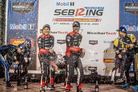 IMSA: Action Express Racing anuncia renovação dos contratos dos brasileiros Nasr e Derani para 2020