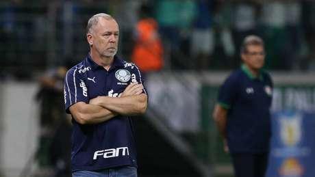 Mano já soma duas vitórias no comando do Palmeiras, contra Goiás e Fluminense (Foto: Cesar Greco/Palmeiras)