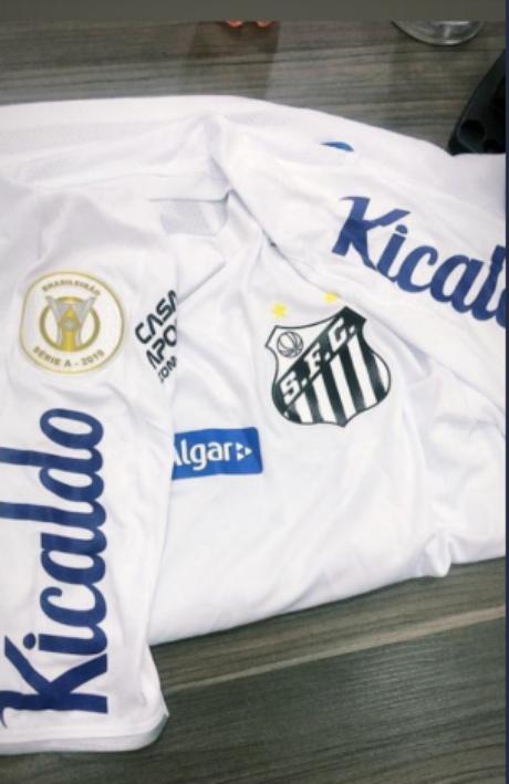 Kicaldo deve patrocinar manga do uniforme do Santos (Reprodução)