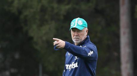 Mano Menezes soma dois jogos e duas vitórias pelo Palmeiras (Foto: Cesar Greco/Palmeiras)