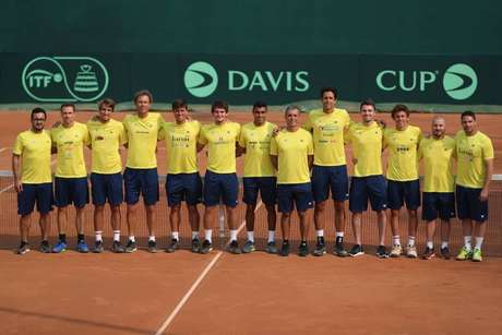 Time Brasil se prepara para o confronto contra Barbados pela Copa Davis (Foto: Reprodução/Instagram)