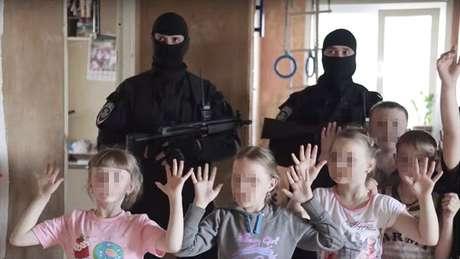 A Spetsnaz Show já fez performances até em festas de criança