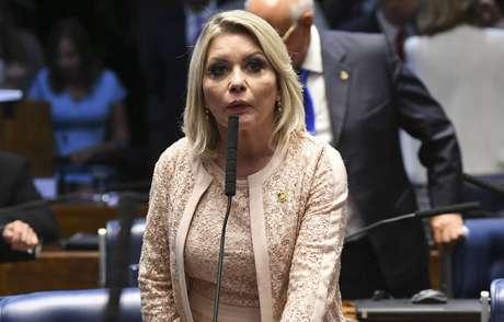 A senadora Juíza Selma Arruda (PSL-MT)