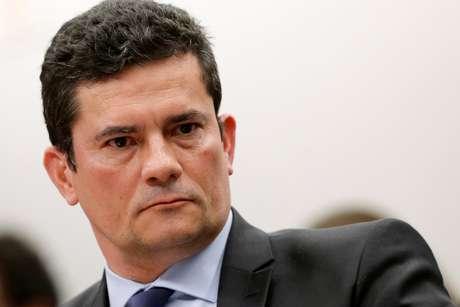 Ministro da Justiça, Sergio Moro, durante audiência em comissão no Congresso 02/07/2019 REUTERS/Adriano Machado