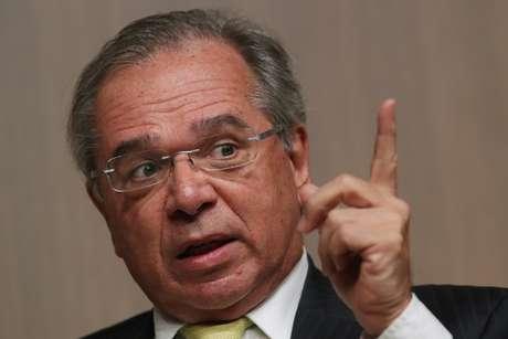 Ministro Paulo Guedes 08/08/2019 REUTERS/Amanda Perobelli