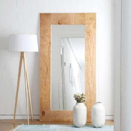 45. Invista em espelhos decorativos que vão se tornar o destaque do ambiente – Foto: Pinterest