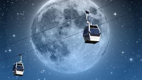 A proposta seria conectar um cabo à Lua