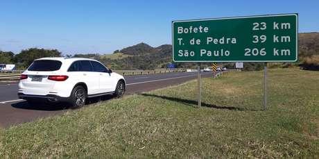 Nossa viagem-teste com o Mercedes-Benz GLC teve percurso de 1.200 km.