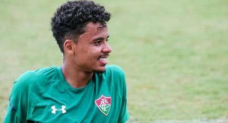 Allan recuperou-se de tendinite e está liberado para enfrentar o Corinthians (Foto: Lucas Merçon/Fluminense)