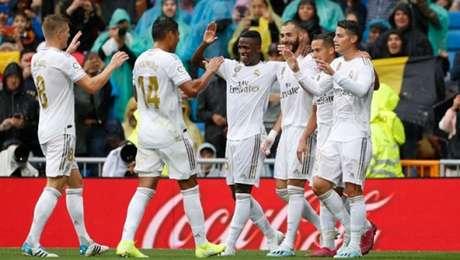 Real Madrid venceu neste sábado (Foto: Reprodução)