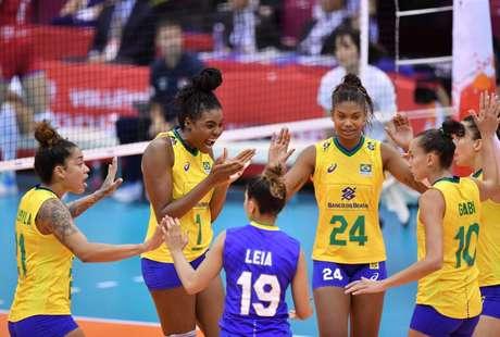 Equipe volta a jogar já neste domingo (Foto: Divulgação/FIVB)