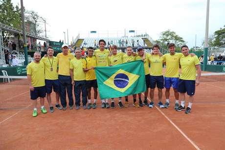 O Brasil agora luta por uma vaga para o Madrid Finals (Foto: Luiz Candido/CBT)