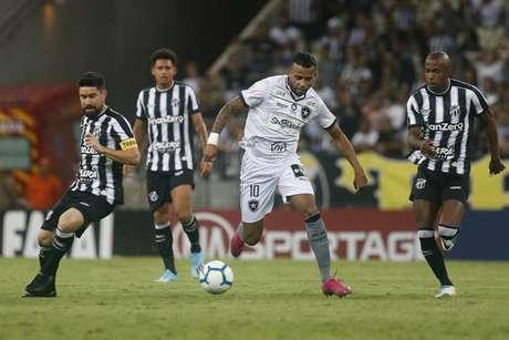 Alex Santana é o artilheiro do Botafogo na temporada (Foto: Vítor Silva/Botafogo)
