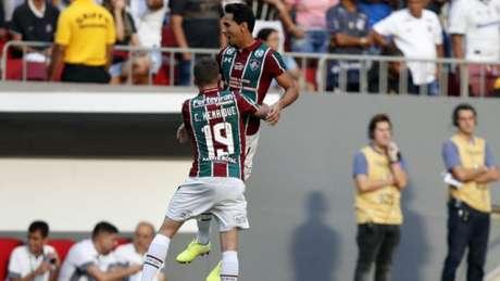 Confira a seguir a galeria especial do LANCE! com imagens da vitória do Fluminense sobre o Corinthians