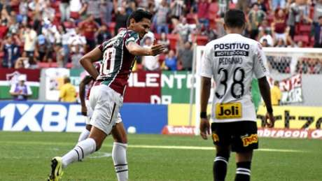 Ganso marcou o gol da vitória do Fluminense (MAILSON SANTANA/FLUMINENSE FC)