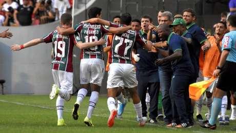 Flu venceu o Corinthians em Brasília por 1 a 0 (MAILSON SANTANA/FLUMINENSE FC)