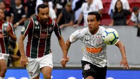 Nenê teve boa atuação na partida contra o Corinthians (MAILSON SANTANA/FLUMINENSE FC)