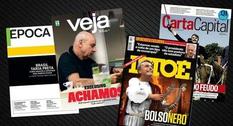 Revistas semanais brasileiras são alvo constante da fúria do presidente