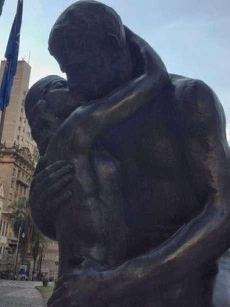 Desde 1966, estátua está no Largo São Francisco