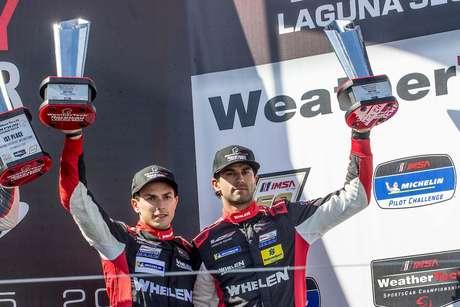 IMSA: Nasr e Derani voltam ao pódio e terminam etapa de Laguna Seca em terceiro lugar