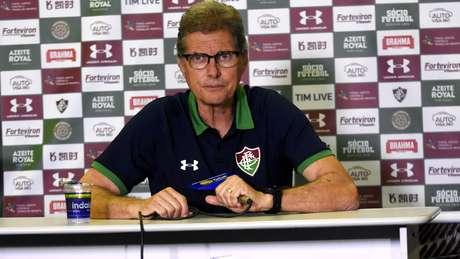 Oswaldo Oliveira, técnico do Fluminense.