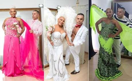 Sem cabelos por conta da quimioterapia, Márcia de Souza virou musa do estilista Edson Eddel