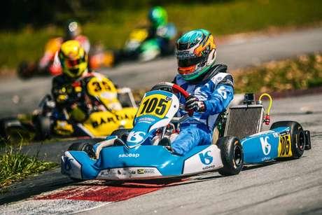 Ricardo Gracia vence duas corridas na Copa Interlagos de Kart e fica com título da etapa