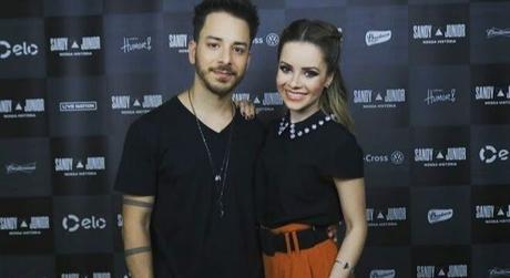 Sandy e Júnior (Foto: @turnenossahistoria/Instagram/Reprodução)