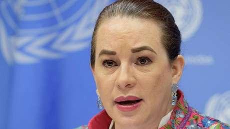 Questionada pela BBC News Brasil sobre que conselho daria ao presidente brasileiro e aos outros líderes estreantes, Espinosa disse que a ONU é um lugar de 'diálogo', 'concordância' e 'conversa'