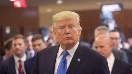 Na ONU, em 2017, Trump chamou líder norte-coreano de 'rocket man' ('homem do foguete')