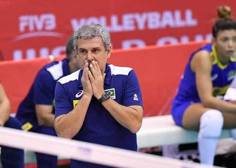 José Roberto Guimarães,técnico da seleção feminina de vôlei