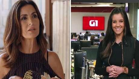 Luiza Tenente e Fátima Bernardes trocaram mensagens de carinho nas redes sociais.