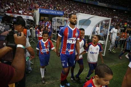 Elton tem 24 jogos na temporada. (Foto: Felipe Oliveira / EC Bahia)