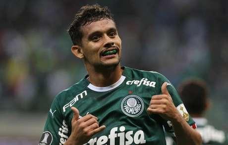 Scarpa é o artilheiro do Palmeiras no ano, com 11 gols marcados (Foto: Cesar Greco/Palmeiras)