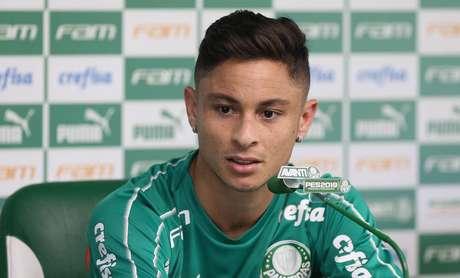 Diogo Barbosa crê na força do Palmeiras para a disputa do título (Foto: Cesar Greco/Ag. Palmeiras)