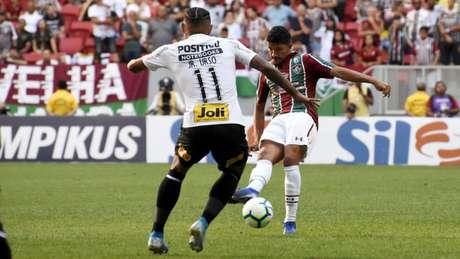 Yuri foi titular contra o Corinthians e deve ser mantido no time (Foto: Mailson Santana/Fluminense)