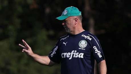 Mano Menezes terá primeira semana livre para reforçar suas ideias no Palmeiras (Agência Palmeiras/Divulgação)