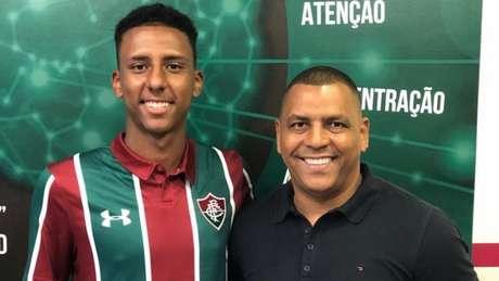 Marcão e Ubiraci Cardoso, representante do atleta(Arquivo Pessoal)