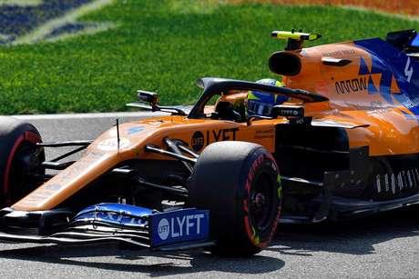 Norris aprendendo a lidar com a fama da Fórmula 1