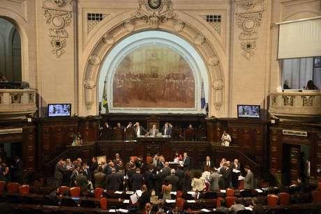 A Assembleia do Rio;Após prisão do ex-governador Sérgio Cabral (MDB), investigações chegaram a deputados estaduais