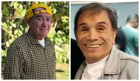 Os humoristas Renato Aragão e Dedé Santana, os eternos 'Trapalhões'.