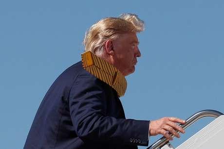 Presidente dos EUA, Donald Trump, embarca no Air Force One 17/09/2019 REUTERS/Tom Brenner